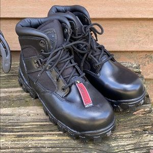 Alpha force Rocky boots, NEW Black sz 4W